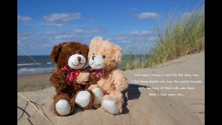 With You - Chris Brown ( lyrics )   /    Bears in  love, Teddy, Bear, Love, Music, Lyrics, Video, Sweet, Sugar, Adorable