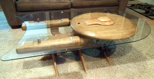 Star Trek Enterprise NCC 1701-C Coffee Table