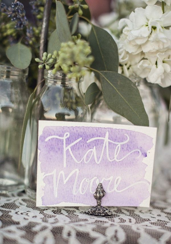 White resist watercolor cards
