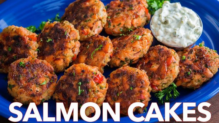 How To Make Salmon Cakes Recipe - Quick and Easy Salmon Patties - YouTube