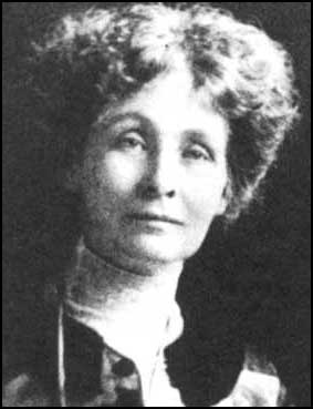 Emmeline Pankhurst, leader of the Suffragettes who endured hunger strikes and imprisonment for women's rights to vote.