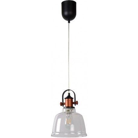 Lampa wisząca Tjoll o szklanym kloszu. https://blowupdesign.pl/pl/33-wiszace-stolowe-lampy-szklane-kule-styl-nowoczesny #lampywiszące #lampyloftowe #lampyszklane #glasslamps #lighting