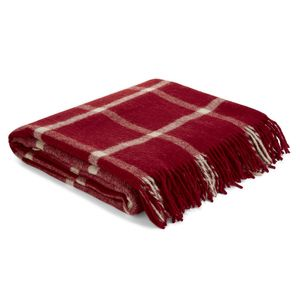 Northwood Check Cranberry Throw