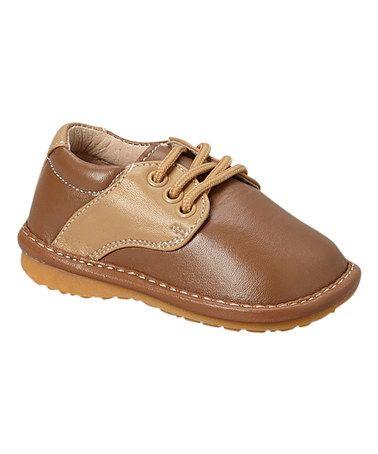 Look what I found on #zulily! Brown Thomas Squeaker Shoe #zulilyfinds