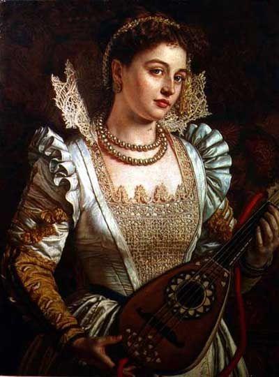 Bianca (1868-1869), William Holman Hunt (1827-1910), GB