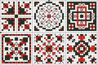 Таинственные вещицы - Mysterious knickknacks: Квадраты 7-12 - Squares 7-12 Quaker ball