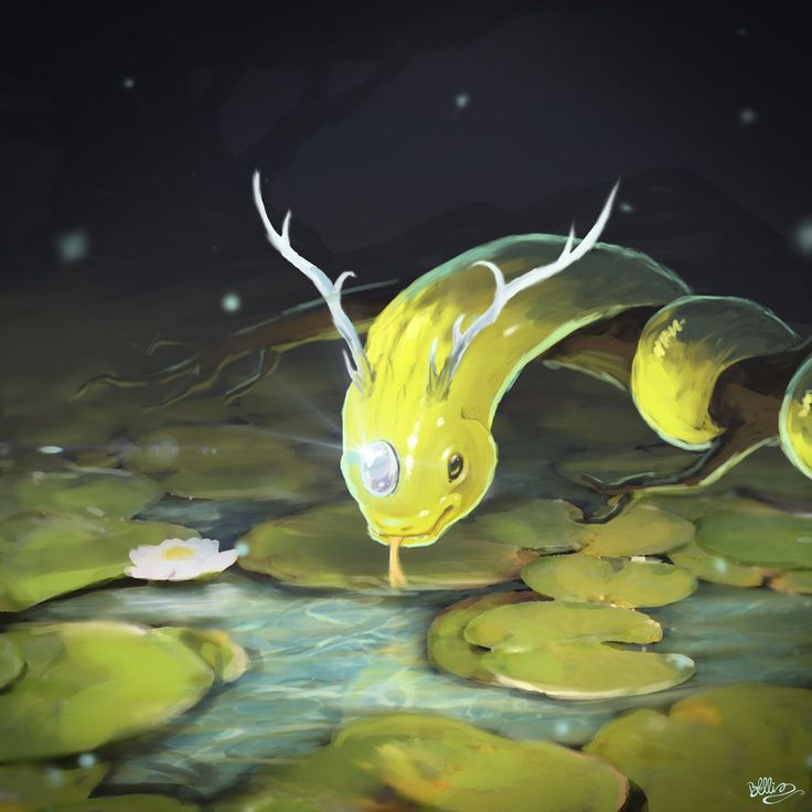 Funkwe (water snake) by Brandon-Ellis.deviantart.com on @DeviantArt