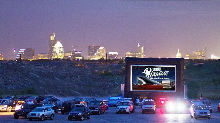 Blue Starlite Drive-In Theater