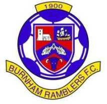 Burnham Ramblers football badge