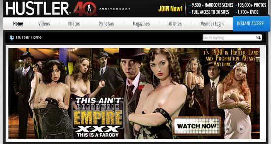 Hustler - få tilgang til nettets største arkiv av XXX filmer og bilder.