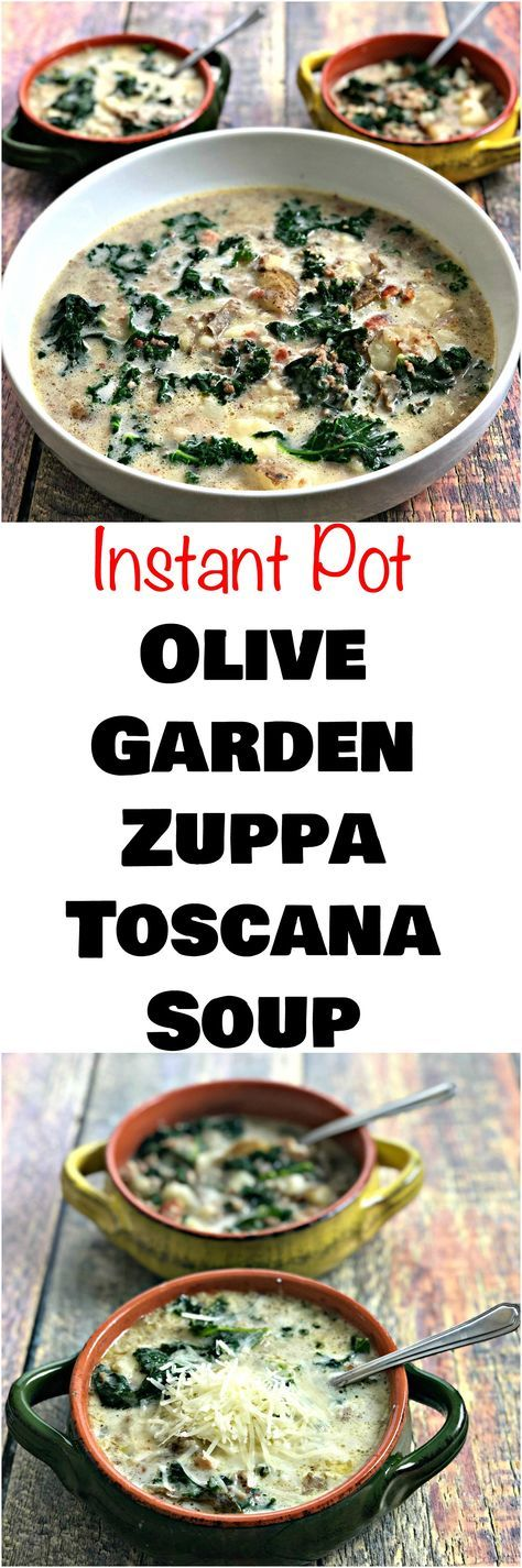 Instant Pot Olive Garden Zuppa Toscana Soup