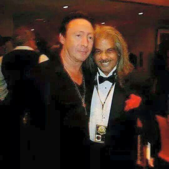 Longtime friends Julian Lennon and David Harrison Levi