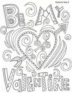 You could print several of these out and make a coloring book or use these to have a child make cards.  ♥