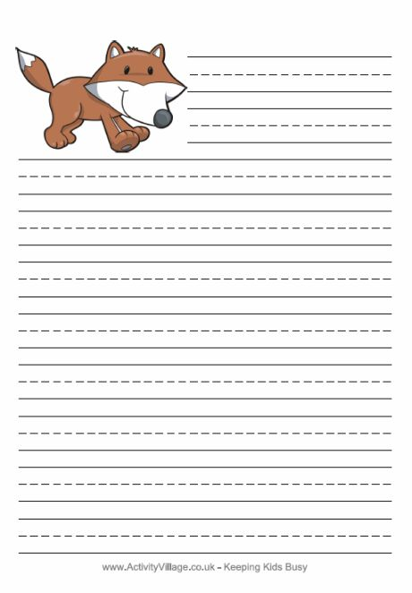 Handwriting Paper Printable Free 12 Best Writing Paper Images On Pinterest