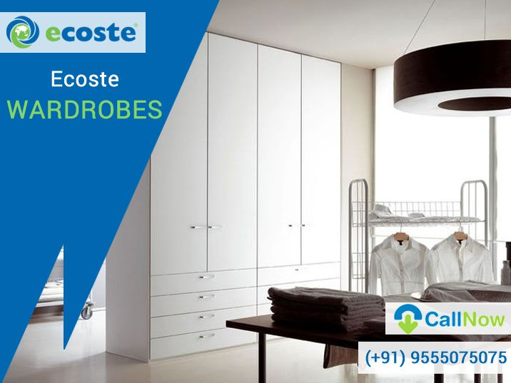 It's time to Revive the ‪#‎Wardrobes‬ of your home with Eco - Friendly Products - http://www.ecoste.in/studio/wardrobes/