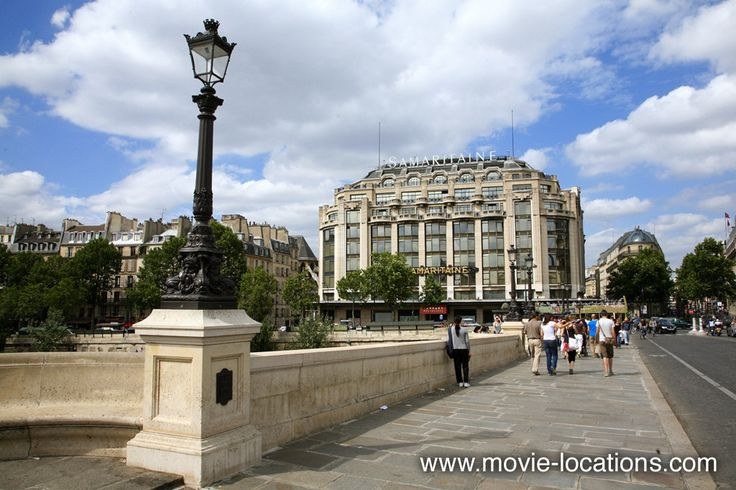 The bourne identity 2002 samaritaine building and the for 104 rue du jardin paris