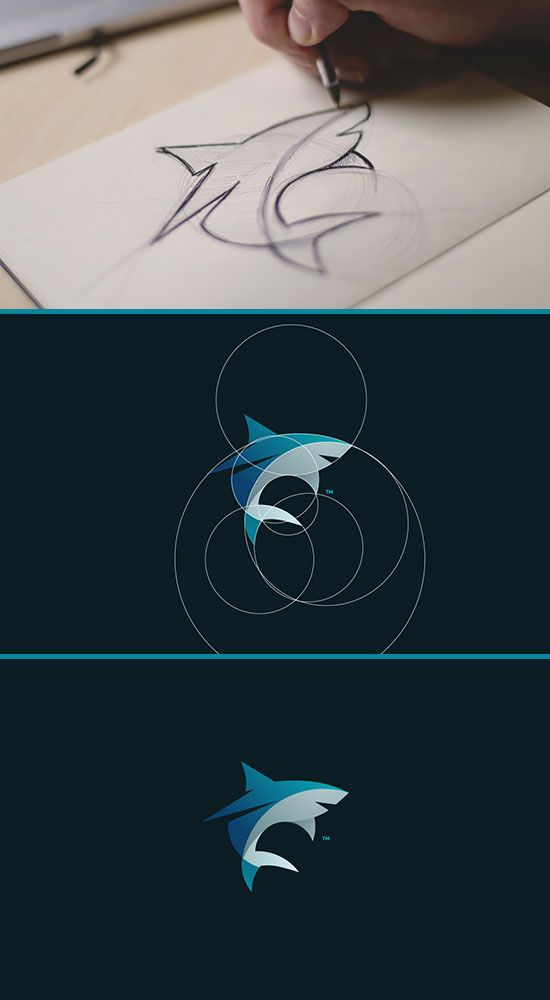 Great circle animal logo