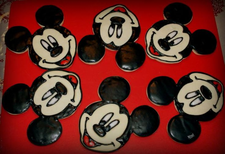 Mickey Mouse's cookies