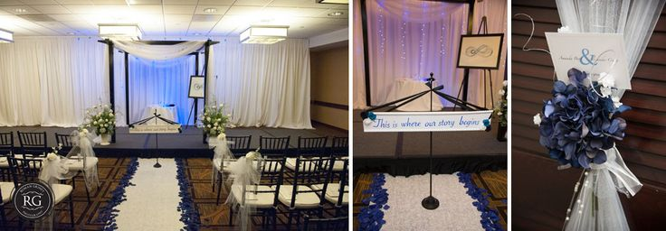 Jewish ceremony details at Hyatt Regency at Crystal City