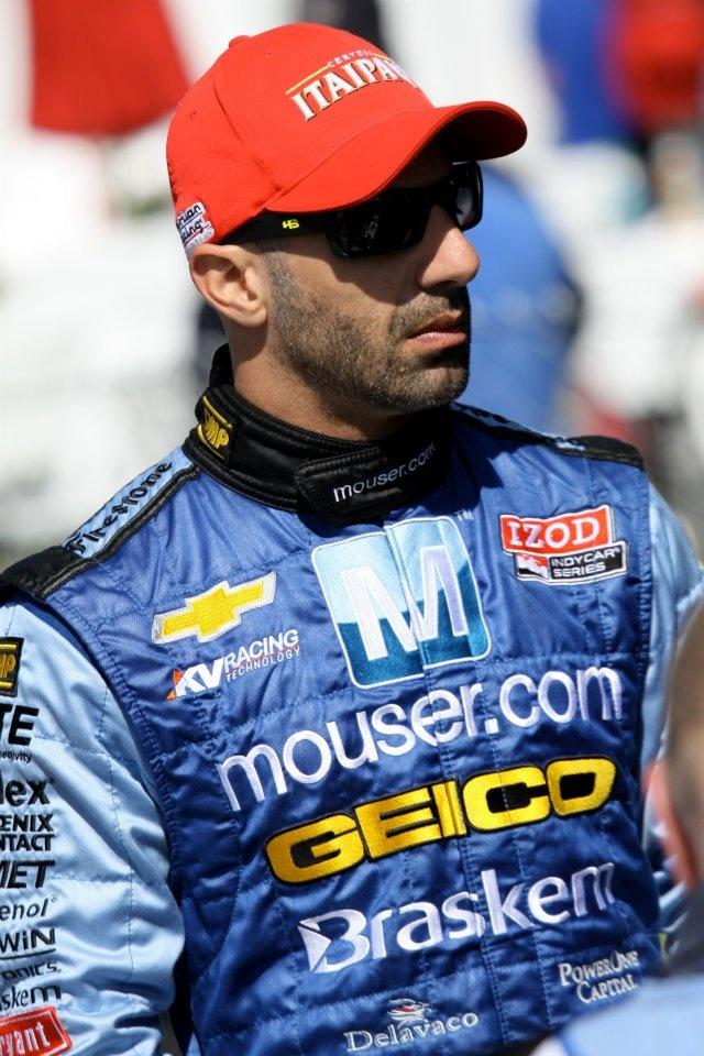 Tony Kanaan at Long Beach, CA IndyCar 2012