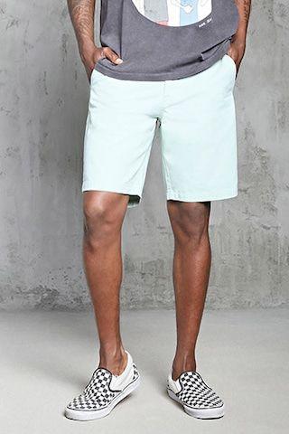 Woven Chino Shorts | 21 MEN - 2000321926