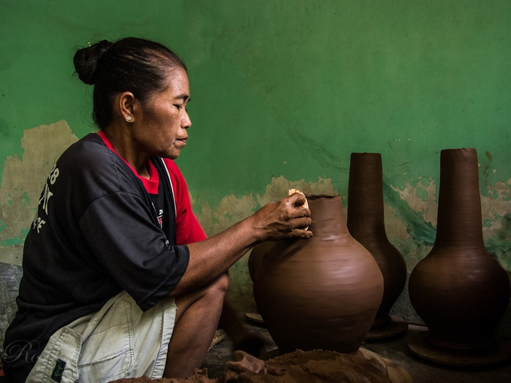 Pottery Craft Maker 2 by Rose Kampoong, via 500px