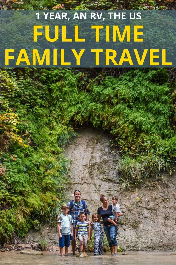 2016 a year of full time rv family travel