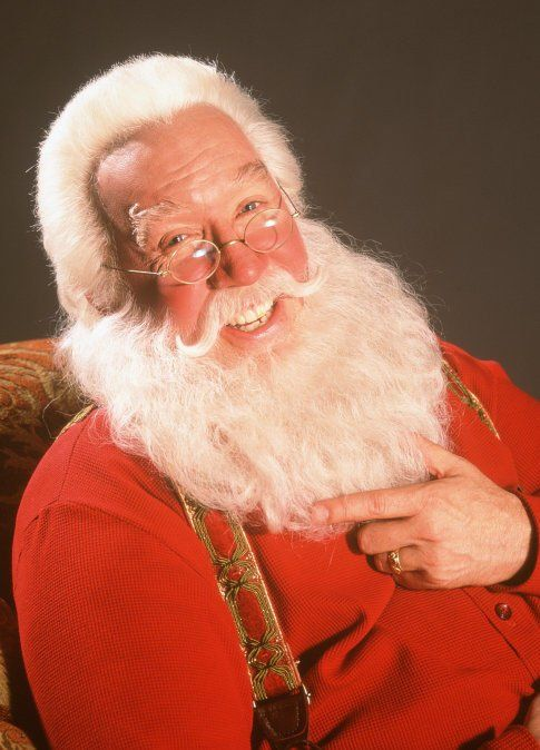 Tim Allen as Santa Clause in The Santa Clause 1 & 2. He will always be my favorite Santa ever.