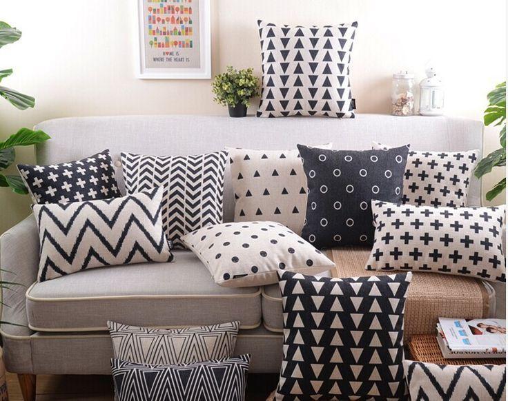 Almofadas Decorativas dão um Up na Decoração