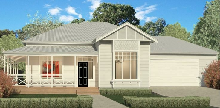 Phil and Amity's proposed house mock up: Here's our new house plans! We are building our dream Hamptons inspired home with award winning Adelaide builders Scott Salisbury Homes.