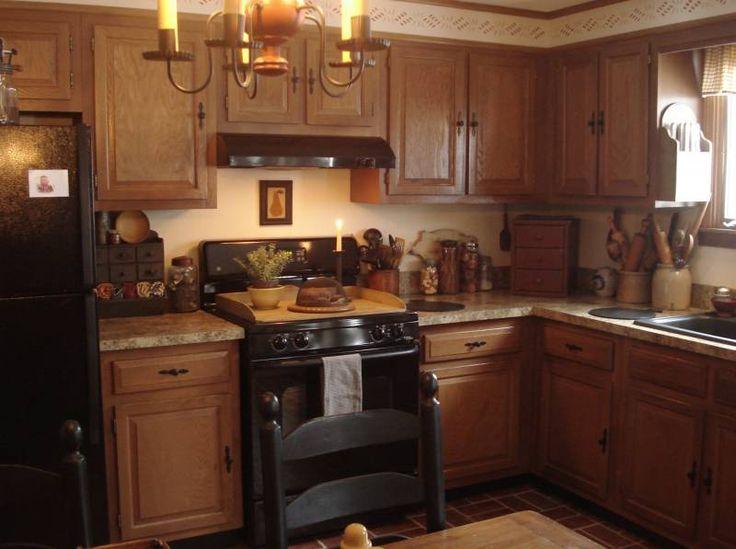 Primitive Home Decor For Kitchen: 17 Best Images About Primitive/Colonial Kitchens On
