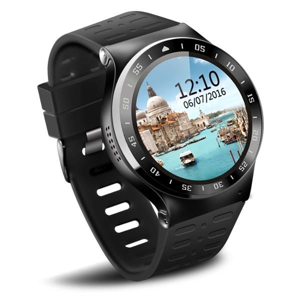 S99A 512MB + 8G Câmera Smart Watch Android 5.1 Monitor de freqüência cardíaca 3G WiFi Smart Watch para Android IOS