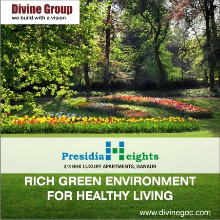 We provide rich green environment inside high profile residential complex to enjoy healthy living & breath fresh.