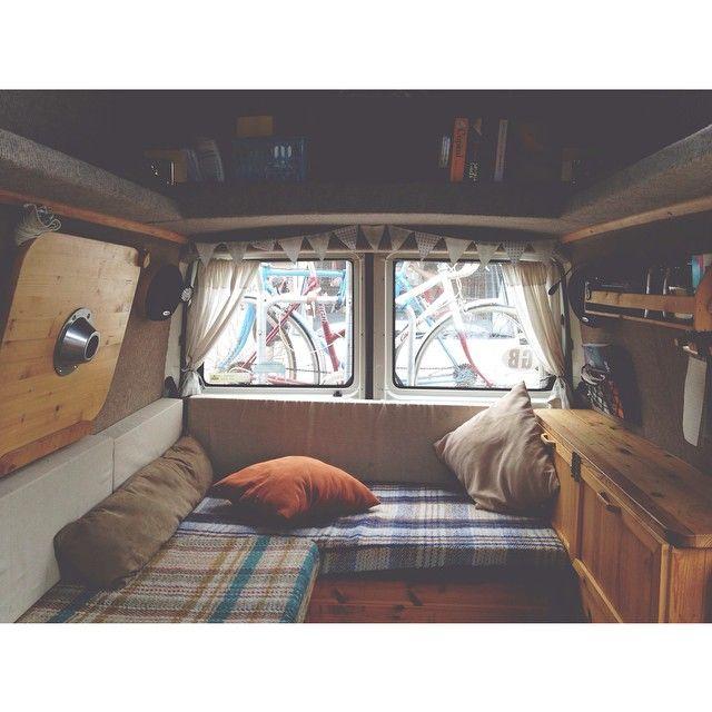 Living room | Bedroom | Kitchen #therollinghome #vanlife