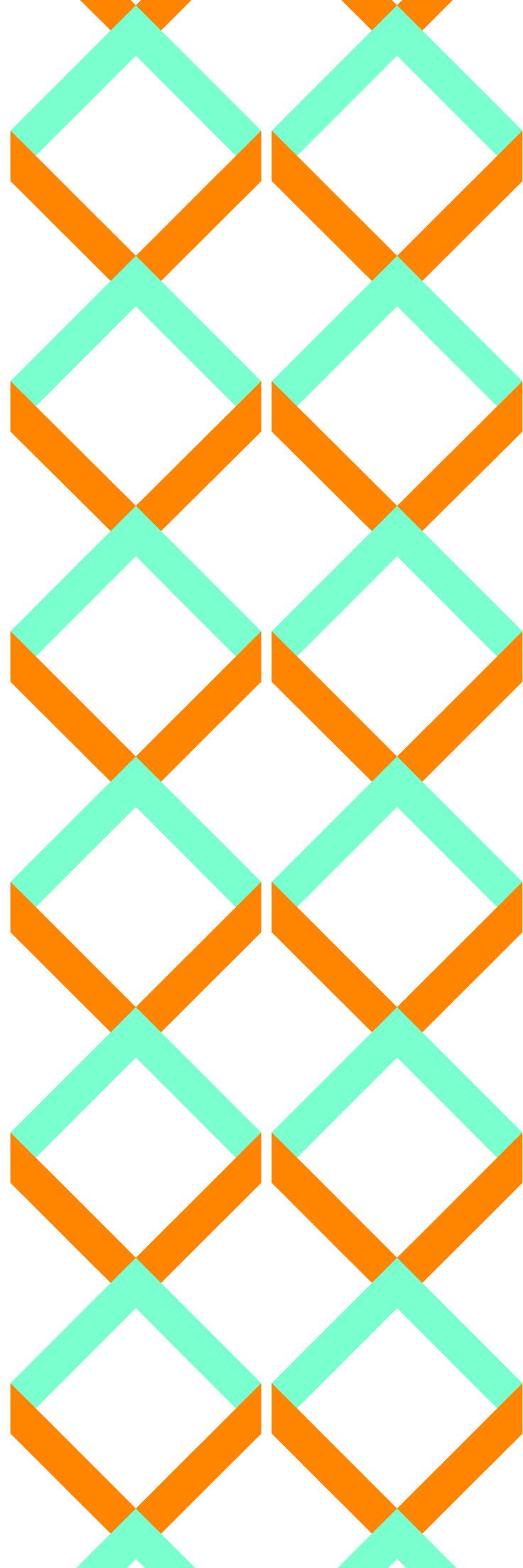 Custom printed wallpaper from the 'FRUIT SPLIT' colour range #wallpaper #fruitsplit  #muurgraphics