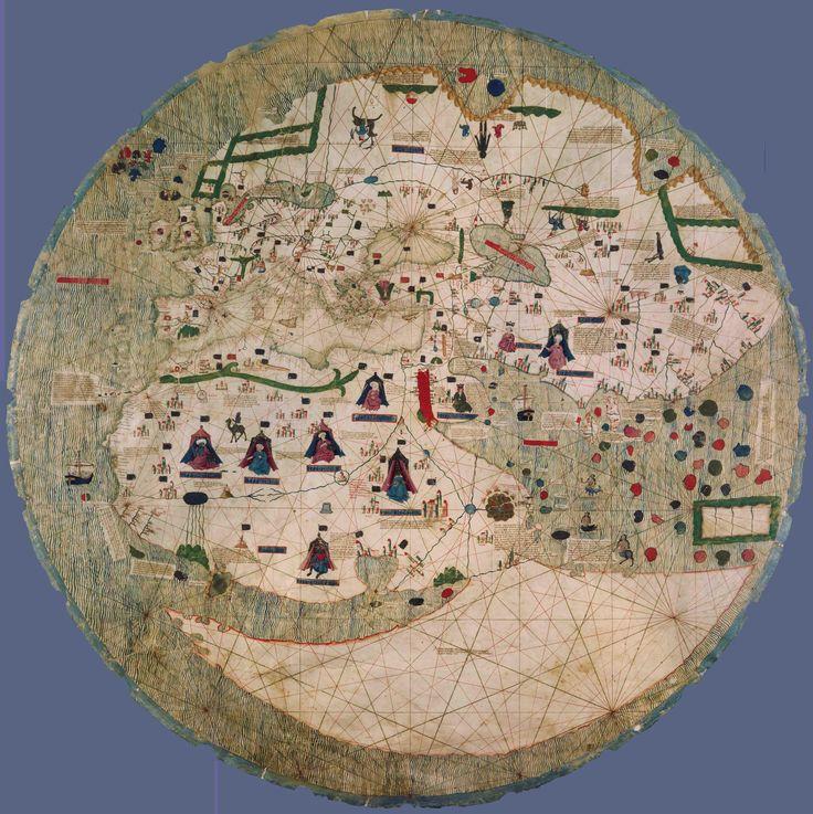 1450 Catalan World Map (Estense)