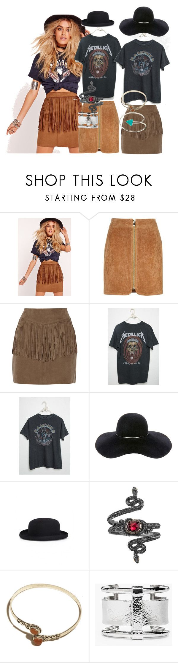 """Voodoo Fest"" by chelsofly on Polyvore featuring Missguided, River Island, W118 by Walter Baker, Brandy Melville, Eugenia Kim, Comme des Garçons, Michael Barin, Urbiana, Chico's and Sol Sana"