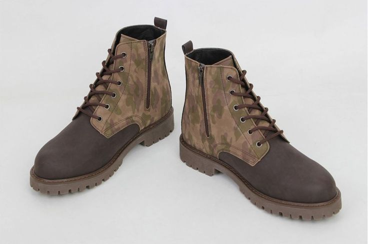 Men&Boys Best Quality Camo Military Design Boots High top Boots Hiking boots #Shinnyman #Military