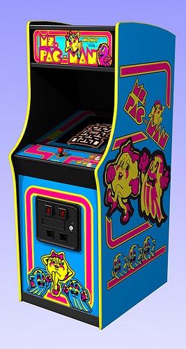 Ms. Pacman machine