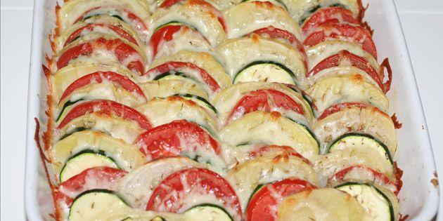 Italiensk grøntsagsfad