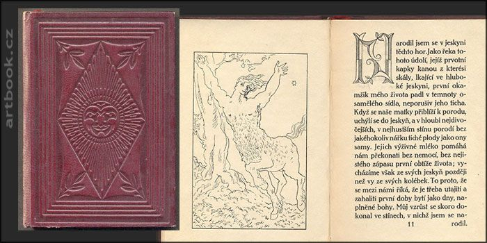 GUÉRIN, GEORGES MAURICE DE: KENTAUR A BAKCHANTKA.  2. svazek edice Hyperion  Antikvariát PRAŽSKÝ ALMANACH www.artbook.cz -  aktuální nabídka