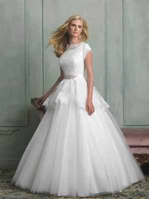 Allure Modest Wedding Dress M510, custom made wedding dress