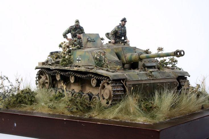"StuG. III Ausf.G from 2nd SS Panzer DIvision ""Das Reich"" Kursk 1943 by Jonathan Fernandez"