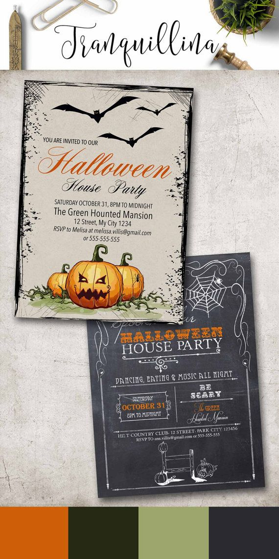 Best 25+ Halloween invitations kids ideas on Pinterest | Halloween ...