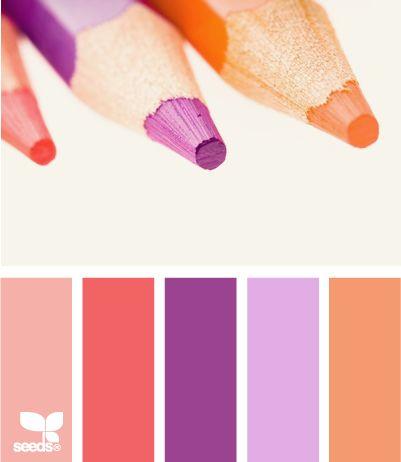 Colorful: Color Palettes, Design Seeds, Color Inspiration, Color Schemes, Color Combos, Color Pencil, Designseeds, Colour Palettes, Color Combination