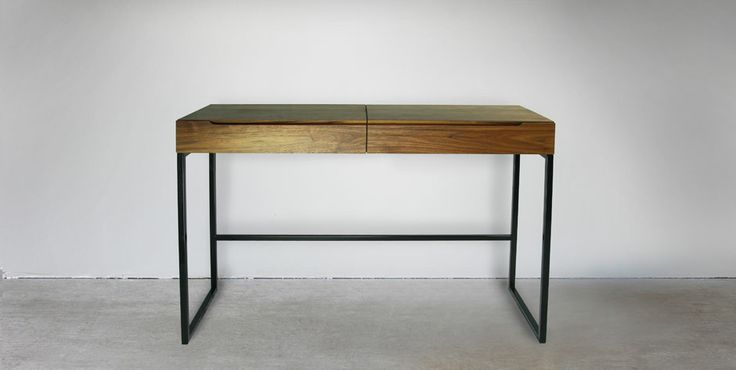 The Luka Desk - With traditional flap *like back in the old school days* and compartment, soft close drawer.