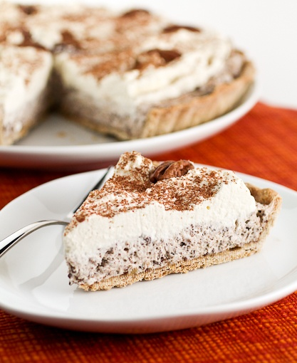 Toasted Pecan Chocolate Cheese Tart - By Evil Shenanigans - Baking ...