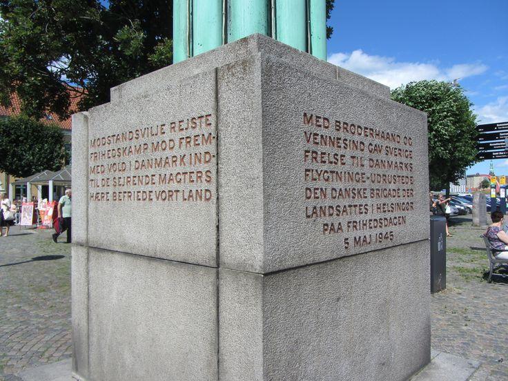 Fredsmonumentet, Helsingør