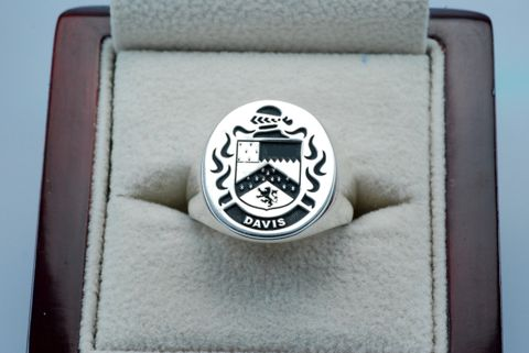 family crest on ring - Google Search