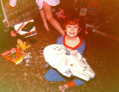 in 1983 i would have been jealous of this kid.